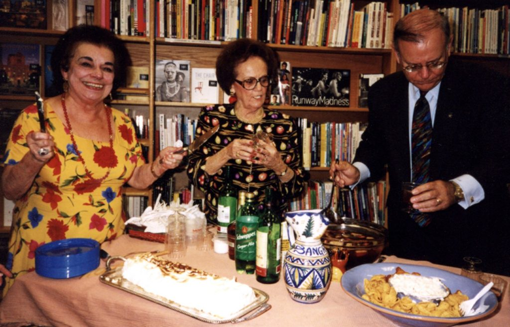 Photo of Adela Gonzmart with Clarita Garcia and E.J. Salcines