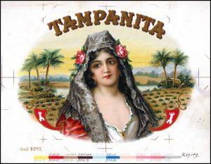 Tampanita Cigar Label